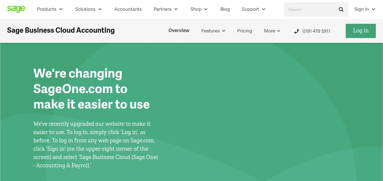 Sage One Cloud-Based Accounting Suite for Business