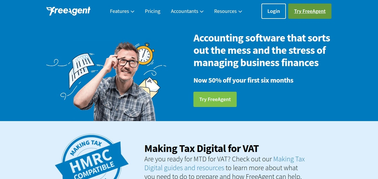 FreeAgent Small Business Accounting Software