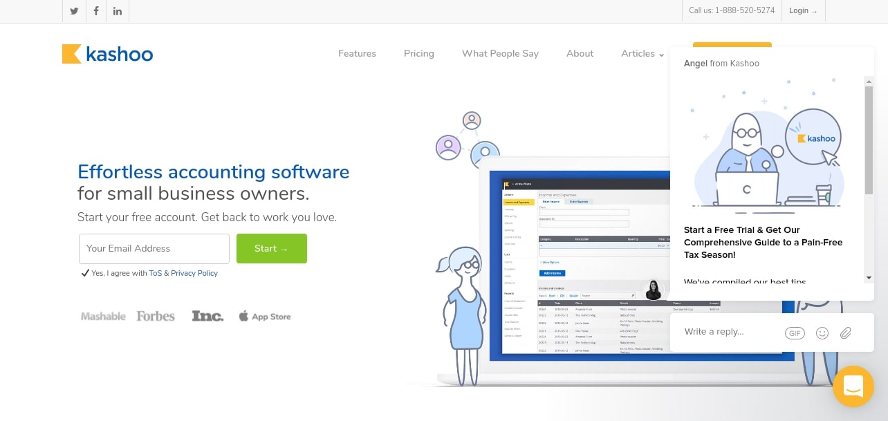 Kashoo Online Accounting Software