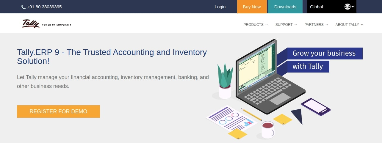 Tally ERP Cloud-Based Accounting Software